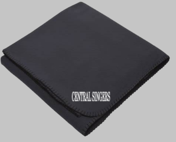 Central Singers Embroidered Blanket