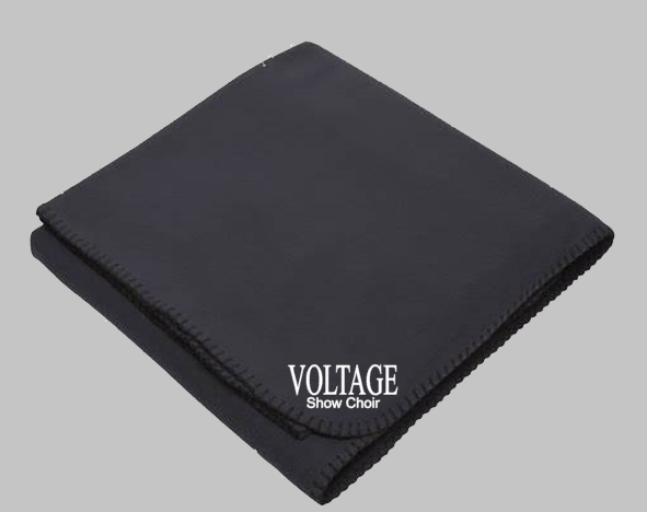 Voltage Embroidered Blanket