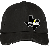 Voltage Distressed Embroidered Hat