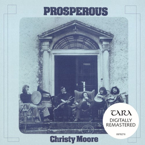 MOORE, CHRISTY: PROSPEROUS RSD AUGUST 2020 LP BLUE VINYL NUMBERED