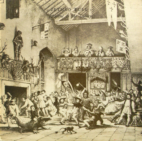 "JETHRO TULL : "" MINSTREL IN THE GALLERY "" (1975) GERMAN REISSUE"