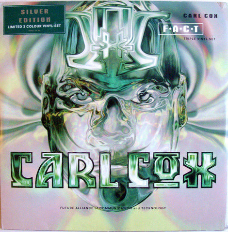 "COX , CARL : "" F.A.C.T SILVER EDITION "" (1995) LP VERY LIMITED EDTION 3 GREEN VINYL ( LOOKS UNPLAYED )"