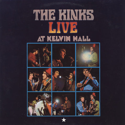 "KINKS , THE : "" THE KINKS LIVE AT KELVIN HALL ( MONO ) "" (1967) 2016 REISSUE MONO"