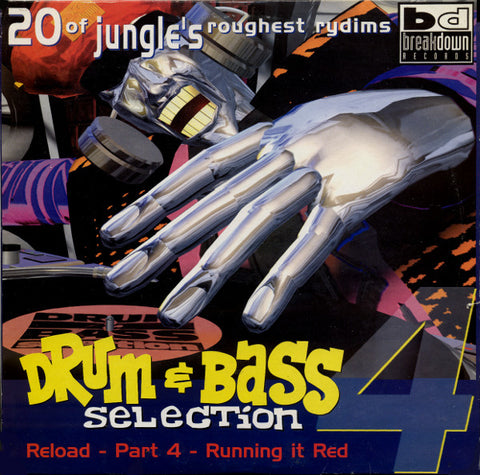 DRUM & BASS SELECTION - RELOAD PART 4 RUNNING IT RED :  VARIOUS (1997) DOUBLE 12INCH SOMA RECORDS