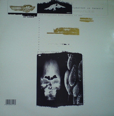 "CYBERNET VS GENETIX : "" CYBORG "" / "" PROGRAM TWO "" (1996) 12 INCH"