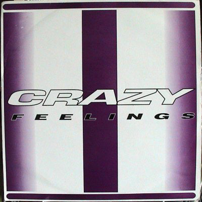 "DJ SHOCK C & DJ ELLIS THE MENACE : "" CRAZY FEELINGS ""  / "" ON THE LEVEL "" (1995) 12 INCH JUNGLE / DRUM & BASS"