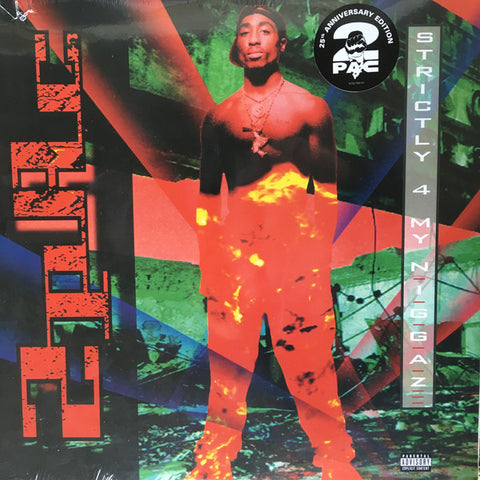 2PAC : STRICTLY 4 MY N_GGAZ (2018) 2XLP. 25TH ANNIVERSARY RE ISSUE OF 2PACS DEBUT ALBUM 180 GRAM VINYL.