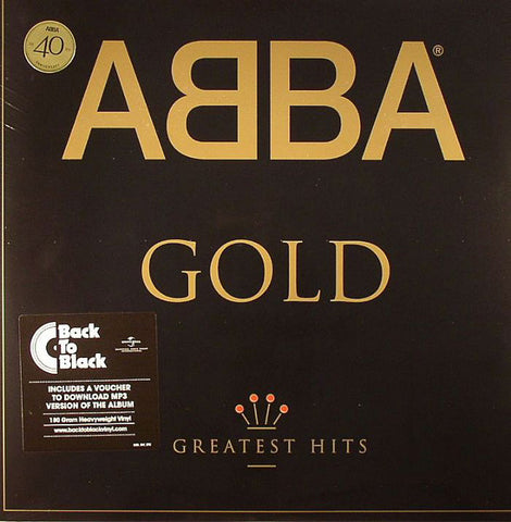 ABBA : GOLD (1992) 2LP 40TH ANNIVERSARY REMASTERED REISSUE 180 GRAM VINYL