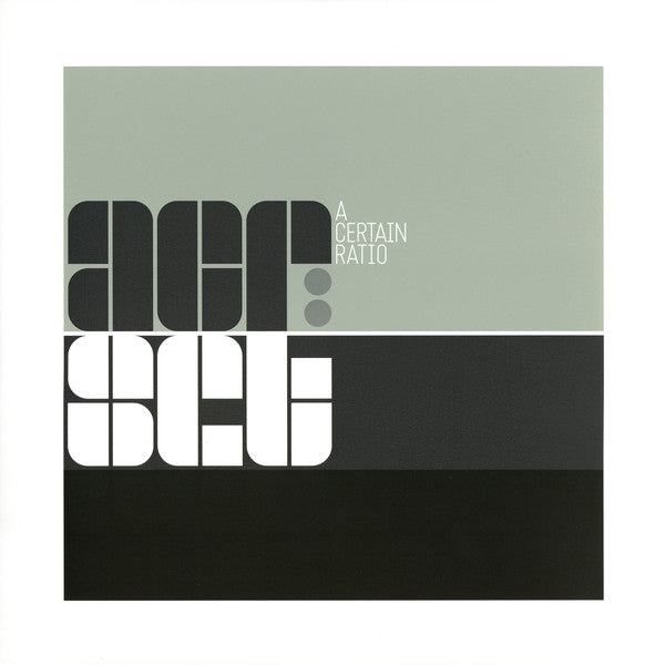 A CERTAIN RATIO : ACR SET ( THE BEST OF ACR ) (2018) 2LP LIMITED EDITION GREEN & SILVER VINYL
