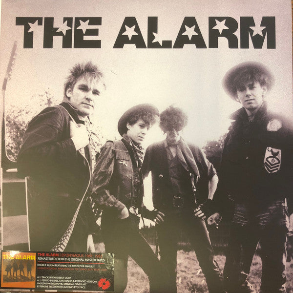 ALARM, THE : EPONYMOUS 1981 - 1983 (2000) 2LP 2018 REMASTERED REISSUE GATEFOLD SLEEVE