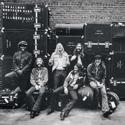 ALLMAN BROTHERS BAND, THE : AT FILLMORE EAST (1971) 2LP REMATSERED REISSUE 180 GRAM VINYL