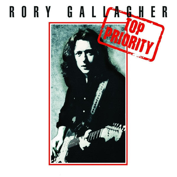 GALLAGHER, RORY : TOP PRIORITY (1979) LP 2018 REMASTERED REISSUE