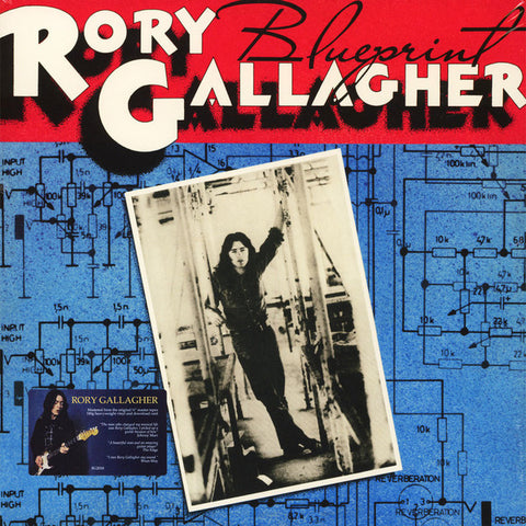 GALLAGHER, RORY : BLUEPRINT (1973) LP 2018 REMASTERED REISSUE