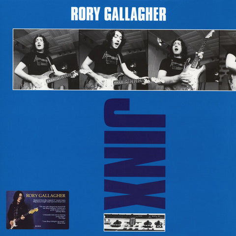 GALLAGHER, RORY : JINX (1982) LP 2018 REMASTERED REISSUE