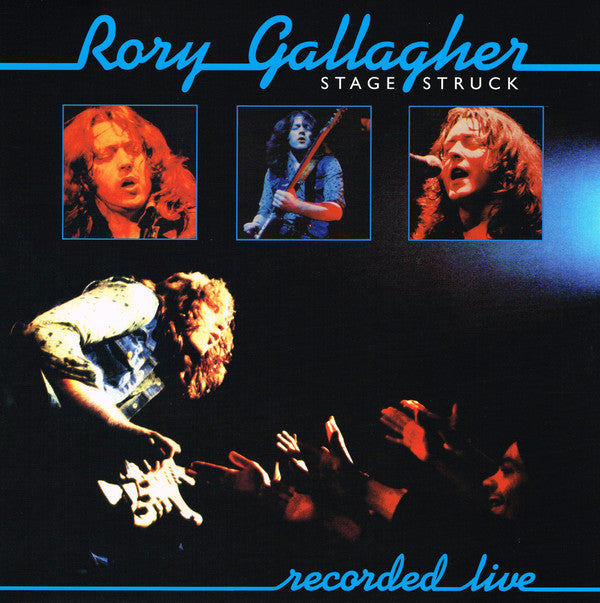 GALLAGHER, RORY : STAGE STRUCK (1980) LP 2018 REMASTERED REISSUE
