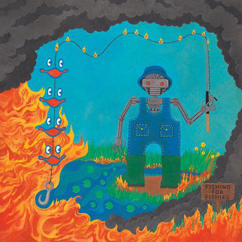 KING GIZZARD & THE LIZARD WIZARD : FISHING FOR FISHES ( LANDFILL EDITION ) (2019) LP
