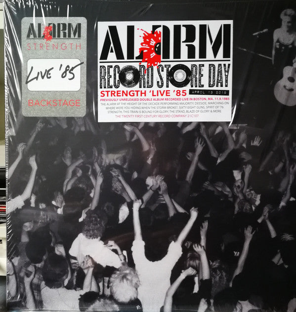 ALARM, THE : THE STRENGTH LIVE 1985 LIVE RSD 2019 2LP