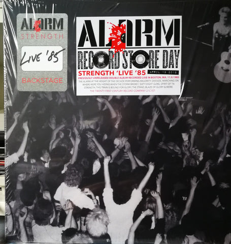 ALARM, THE : THE STRENGTH LIVE 1985 LIVE RSD 2019 (2019) 2LP