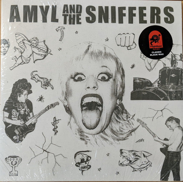 AMYL AND THE SNIFFERS : AMYL AND THE SNIFFERS (2019) LP