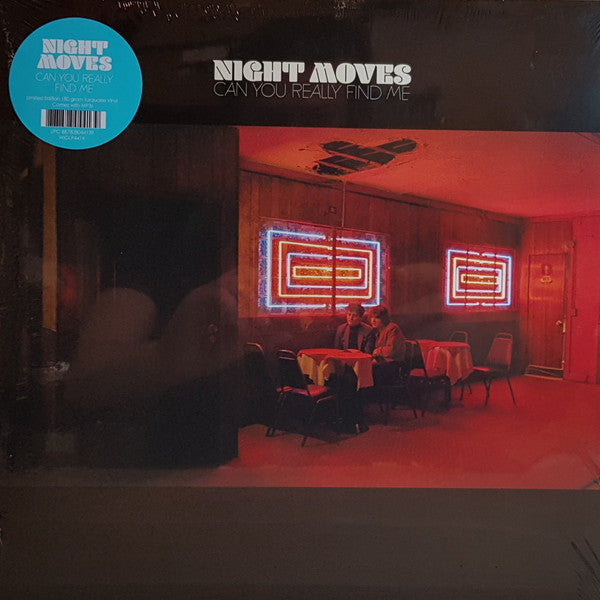 NIGHT MOVES : CAN YOU REALLY FIND ME (2019) CD / LP LIMITED EDITION COLORED VINYL GATEFOLD SLEEVE