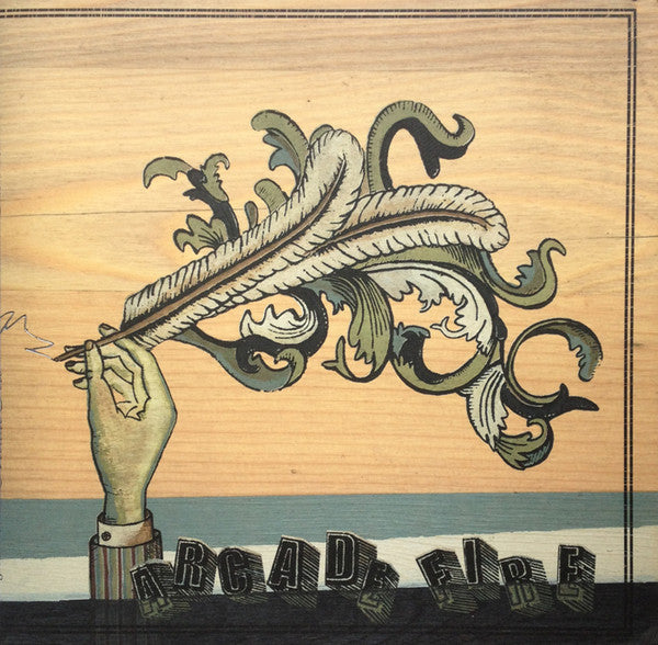 ARCADE FIRE : FUNERAL (2004) LP 2017 REISSUE GATEFOLD SLEEVE