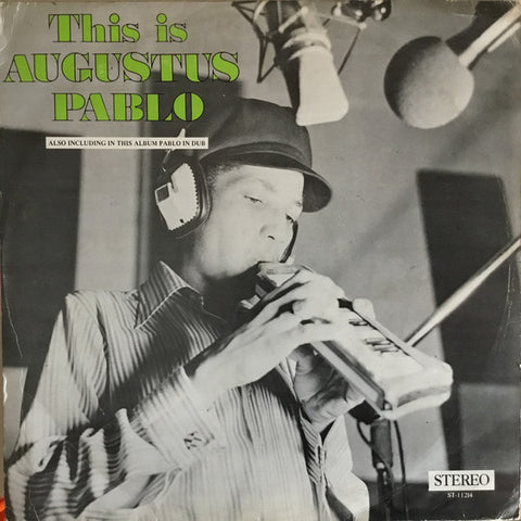 PABLO, AUGUSTUS: THIS IS AUGUSTUS PABLO ( GET ON DOWN REISSUE ) (1974) LP GET DOWN RECORDS LIMITED EDITION DELUXE REISSUE