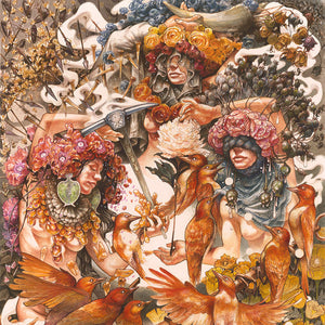 BARONESS : GOLD & GREY (2019) 2LP LIMITED TRANSPARENT RED & BLUE VINYL