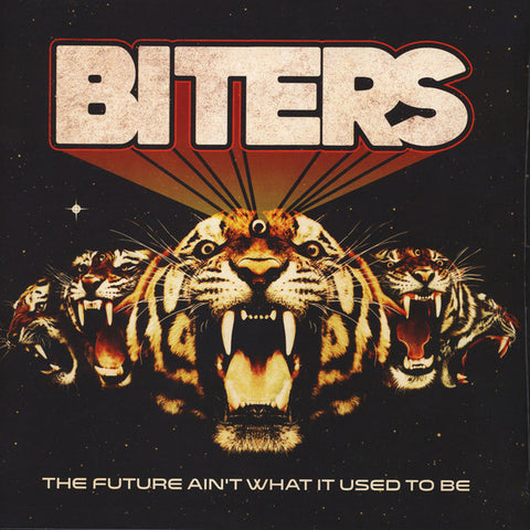 BITERS  : THE FUTURE AINT WHAT IT USED TO BE (2017) LP GATEFOLD