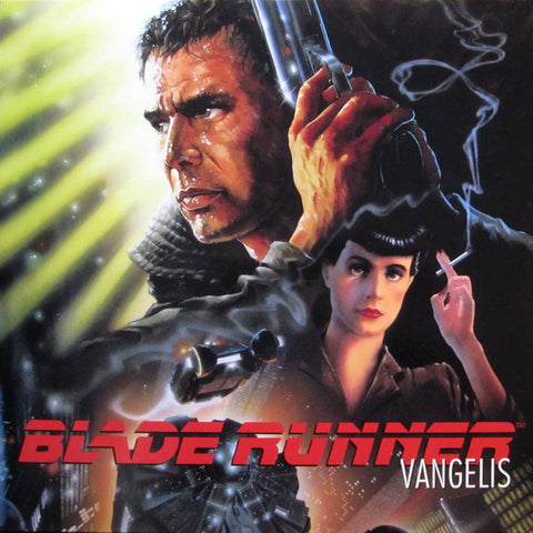 BLADE RUNNER - VANGELIS .  ( 2018 RE-ISSUE ) LP 180 GRAM VINYL