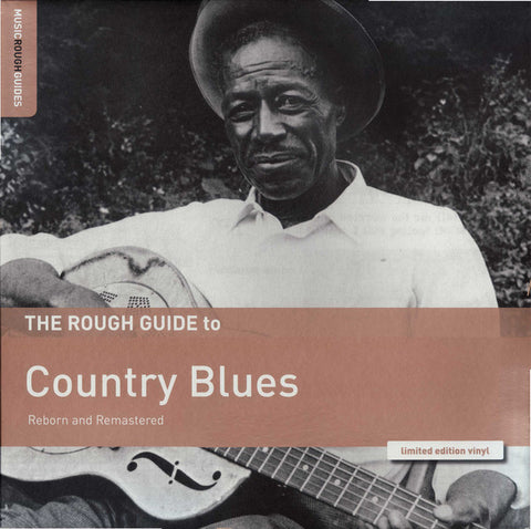 THE ROUGH GUIDE TO : COUNTRY BLUES - VARIOUS ARTISTS (2019) LP LIMITED EDITION VINYL