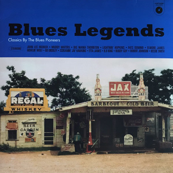 BLUES LEGENDS : CLASSICS BY THE BLUES PIONEERS BLUES - VARIOUS ARTISTS (2018) LP LIMITED EDITION VINYL