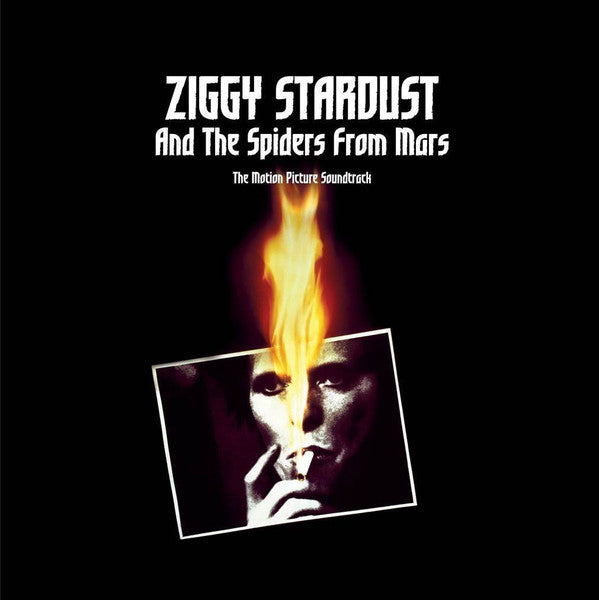 BOWIE, DAVID : ZIGGY STARDUST AND THE SPIDERS FROM MARS: THE MOTION PICUTRE SOUNDTRACK (1983) 2LP 2016 REISSUE GATEFOLD SLEEVE