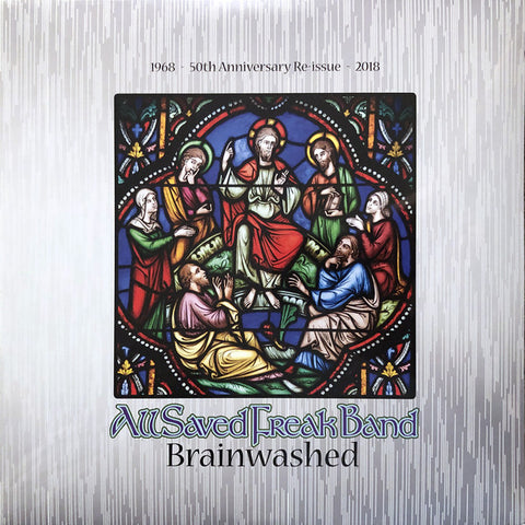 BRAINWASHED : ALL SAVED FREAK BAND (1976)  LP 2019 REISSUE
