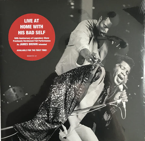 BROWN, JAMES : LIVE AT HOME WITH HIS BAD SELF (2019) 2LP