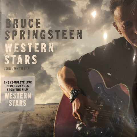 SPRINGSTEEN, BRUCE : WESTERN STARS (SONGS FROM THE FILM) (2019) 2LP GATEFOLD SLEEVE