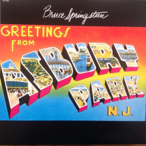 SPRINGSTEEN, BRUCE : GREETINGS FROM ASBURY PARK, N.J. (1973) LP 2015 REMASTERED FROM ORIGINAL TAPES REISSUE