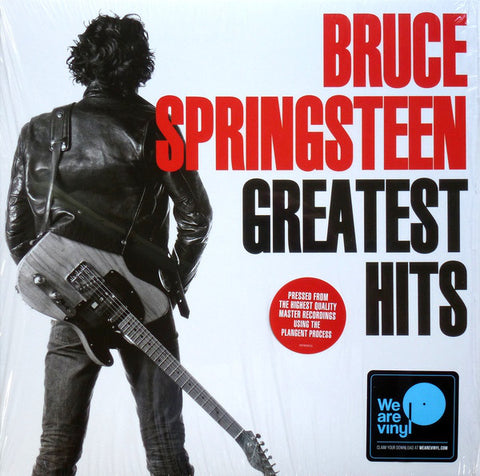 SPRINGSTEEN, BRUCE : GREATEST HITS (1995) 2LP 2018 REMASTERED REISSUE 180 GRAM VINYL