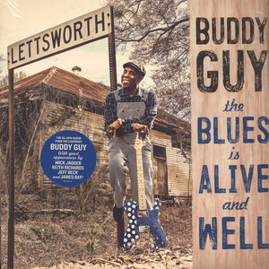GUY,BUDDY : THE BLUES IS ALIVE AND WELL (2018) 2LP IN GATEFOLD SLEEVE