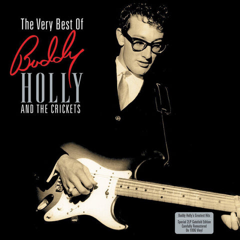 HOLLY, BUDDY : BUDDY HOLLY AND THE CRICKETS ,THE VERY BEST OF (2015) 2LP 180 GRAM VINYL