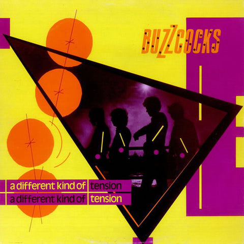 BUZZCOCKS : A DIFFERENT KIND OF TENSION (1979) LP 2019 DELUXE YELLOW VINYL REISSUE