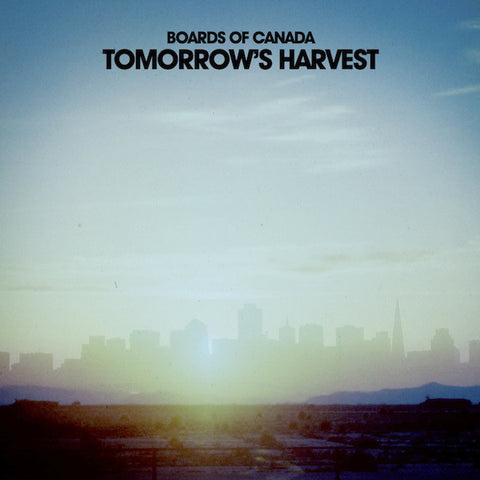 BOARDS OF CANADA : TOMORROW'S HARVEST (2013) 2LP WARP RECORDS