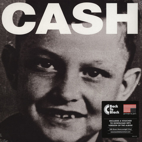 CASH, JOHNNY : AMERICAN IV : AINT NO GRAVE (2014) 180 GRAM REPRESS OF CASH'S 2010 RELEASE