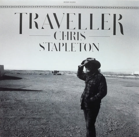 STAPLETON, CHRIS : TRAVELLER (2015) 2XLP GATEFOLD SLEEVE