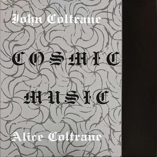 COLTRANE, JOHN & ALICE COLTRANE : COSMIC MUSIC (1968) LP 2017 REISSUE IN WORLDS HEAVIEST GATEFOLD SLEEVE