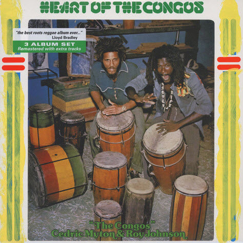 CONGOS, THE & LEE SCRATCH PERRY : HEART OF THE CONGOS (1977) 3LP 2017 TRIPLE VINYL REISSUE