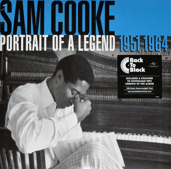 COOKE, SAM : PORTRAIT OF A LEGEND 1951-1964 (2014) 2LP 180 GRAM IN GATEFOLD PRESSING