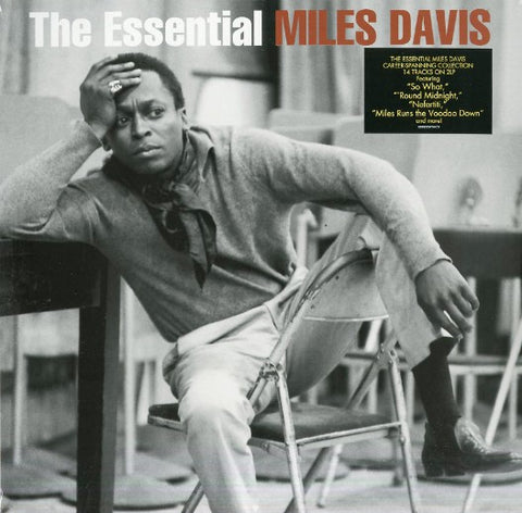 DAVIS, MILES : THE ESSENTIAL MILES DAVIS (2016) 2LP