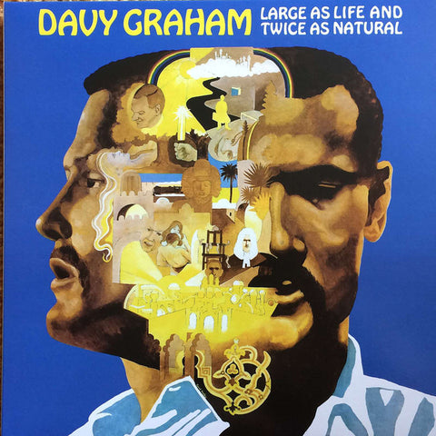 GRAHAM, DAVY : LARGE AS LIFE AND TWICE AS NATURAL (1968) 2017 REISSUE