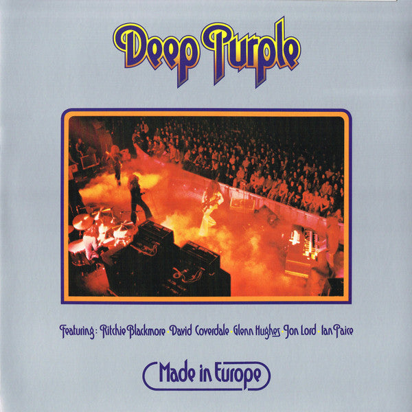 DEEP PURPLE : MADE IN EUROPE (1976) LP 2018 REMASTERED REISSUE 180 GRAM GATEFOLD SLEEVE