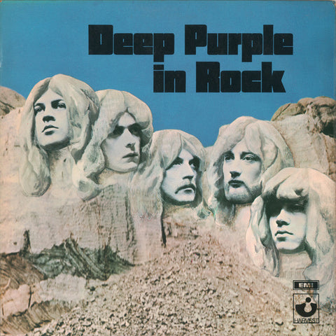 "DEEP PURPLE : "" DEEP PURPLE IN ROCK "" (1970) LP U.K 70'S GATEFOLD SLEEVE VG+"